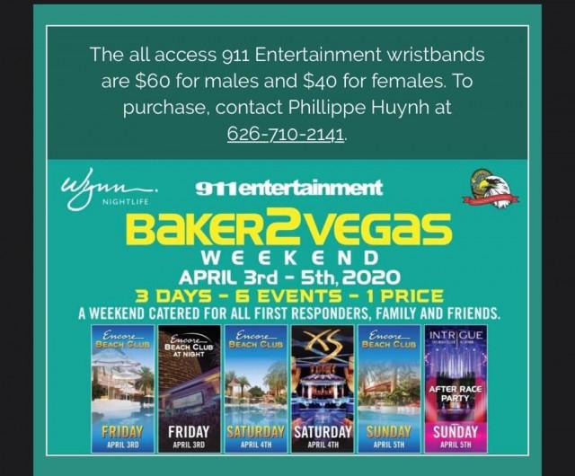 Baker 2 Vegas Weekend